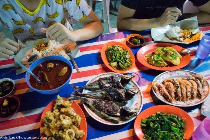 best foods in melaka - ikan bakar