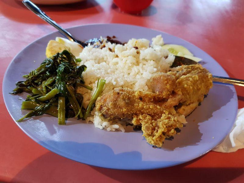 best food in malacca - asam pedas