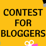 Contest For Bloggers [CLOSED]
