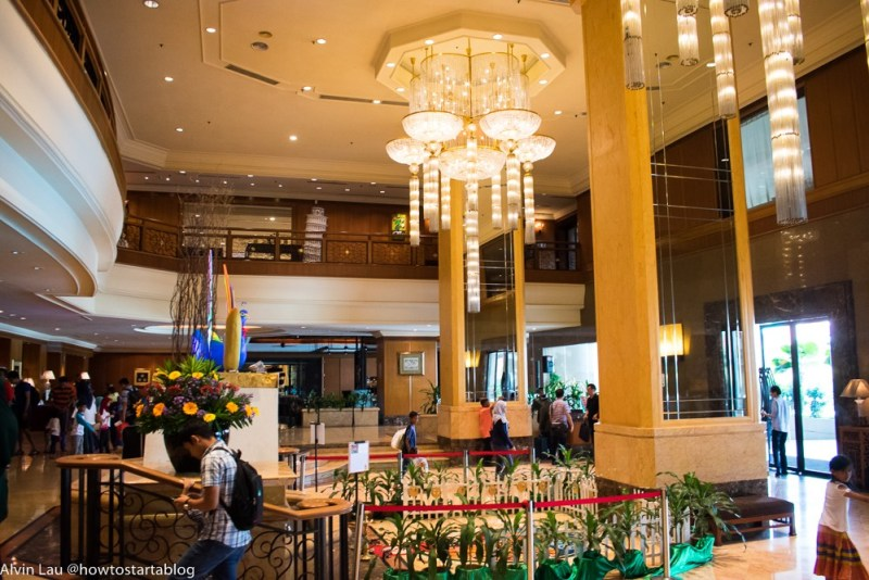 nicest hotel buffet in malacca
