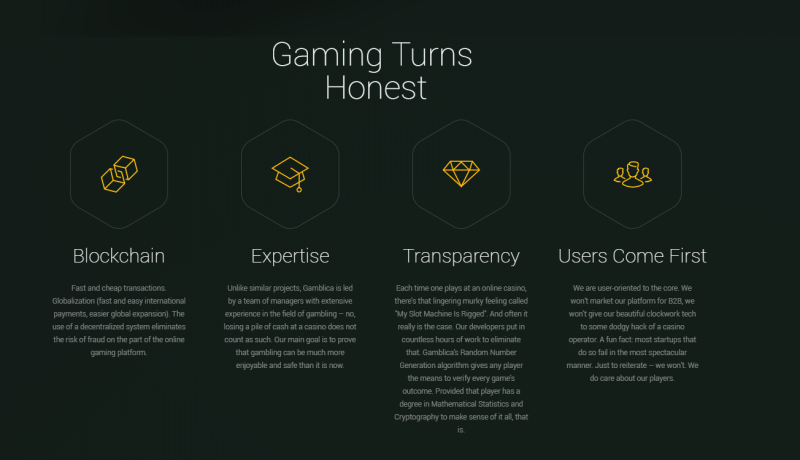 gamblica cryptocurrency