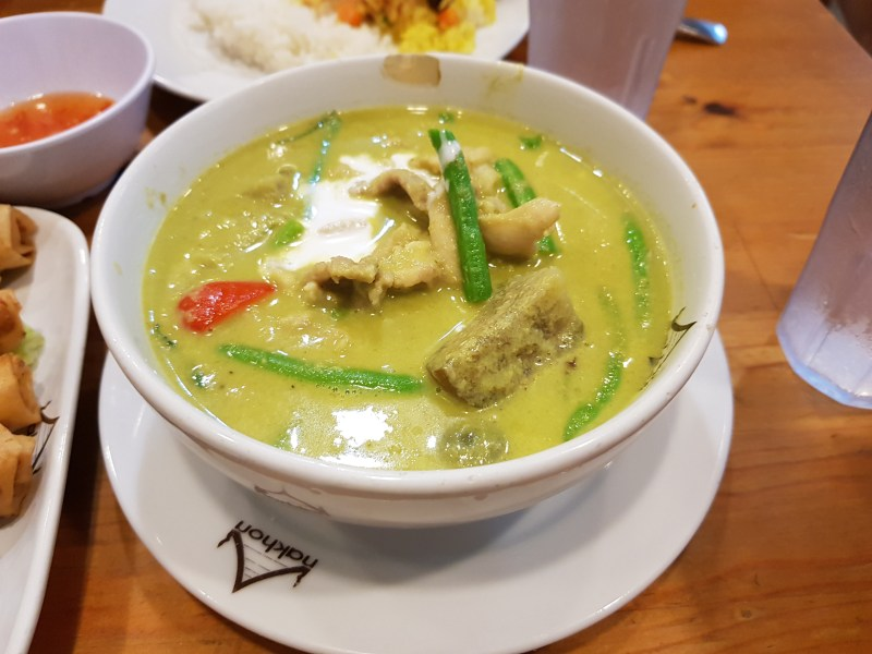 nakhon kitchen green curry