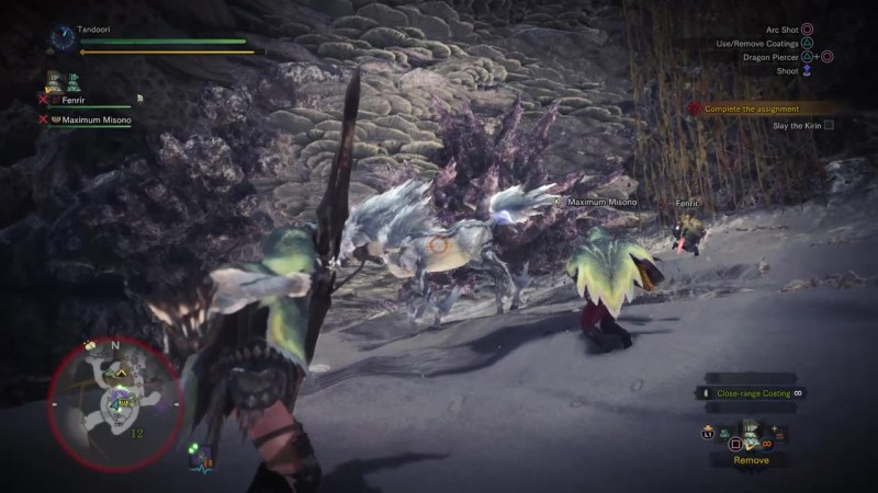 how to defeat kirin hr 49