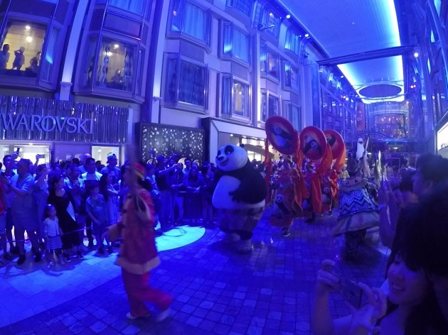 voyager of the seas kung fu panda