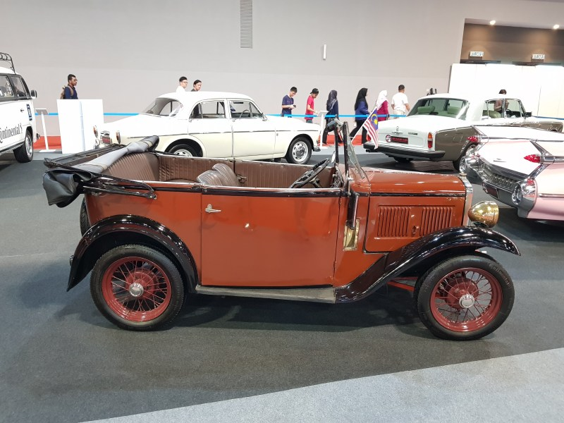klims 18 old car