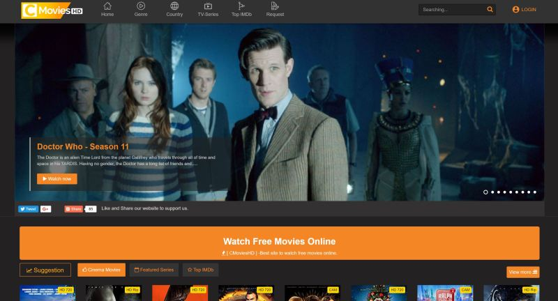 best websites to stream movies for free