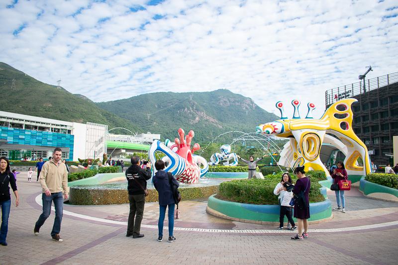 ocean park entrance photos