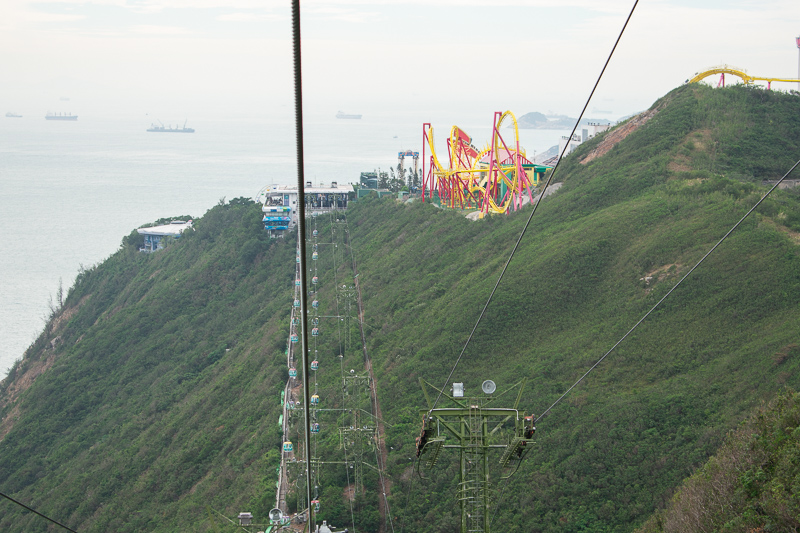 ocean park hk attractions 2018 - cable car