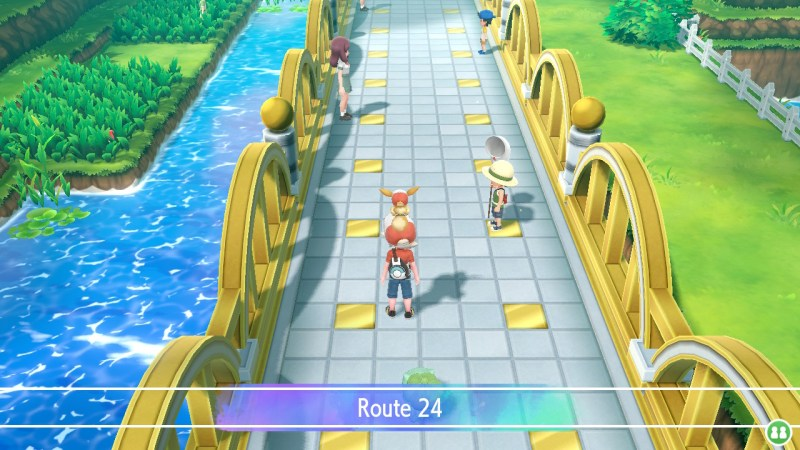 pokemon let's go cerulean city what to do