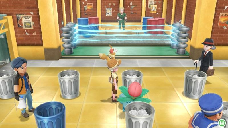 pokemon let's go vermilion gym guide