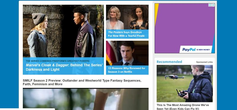 free tv shows on websites