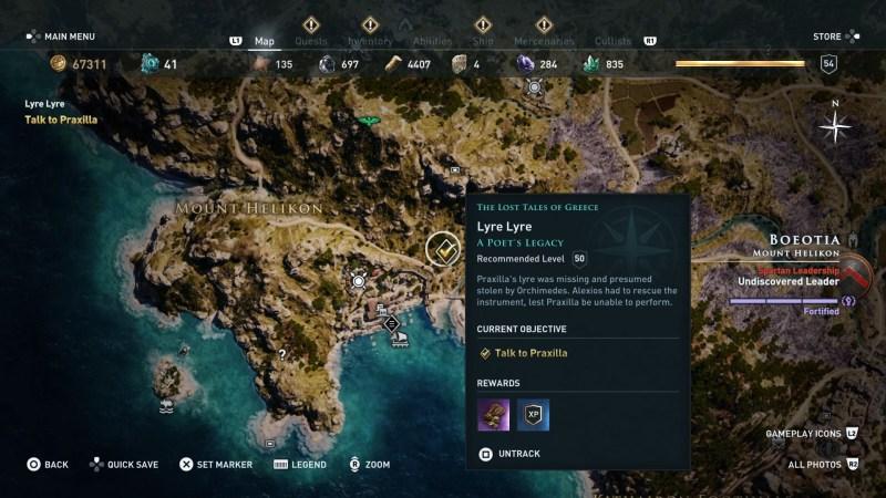 assassins-creed-odyssey-lyre-lyre-quest-walkthrough