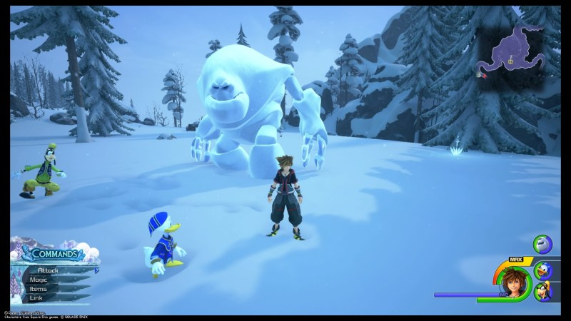 kingdom-hearts-3-arendelle-snowfield-friends-with-ice-giant