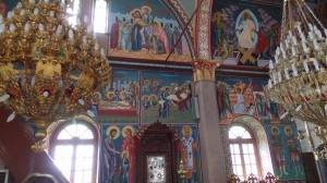 Frescos in Mesochori church