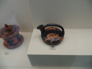Just another piece of Grecian pottery.