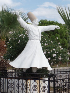 Dervish statue near Ayvalik, Turkey