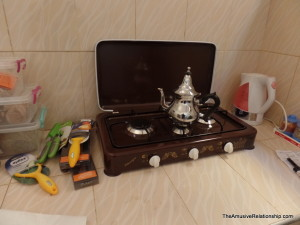 Mastering Moroccan tea.