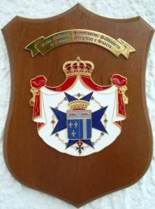 Crest Ordine Militare del SS. Salvatore e S. Brigida di Svezia