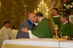 Cardinale Sepe, P. Francesco Petrillo, Gran Maestro