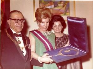 Il Gran Maestro OMSB e Pres. Uruguay