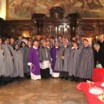17 dic. 2011 Cavalieri e Dame di S. Brigida in Napoli per lo scambio di auguri