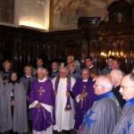 Il clima di letizia che regna tra i Cavalieri Dame e Cappellani di S. Brigida