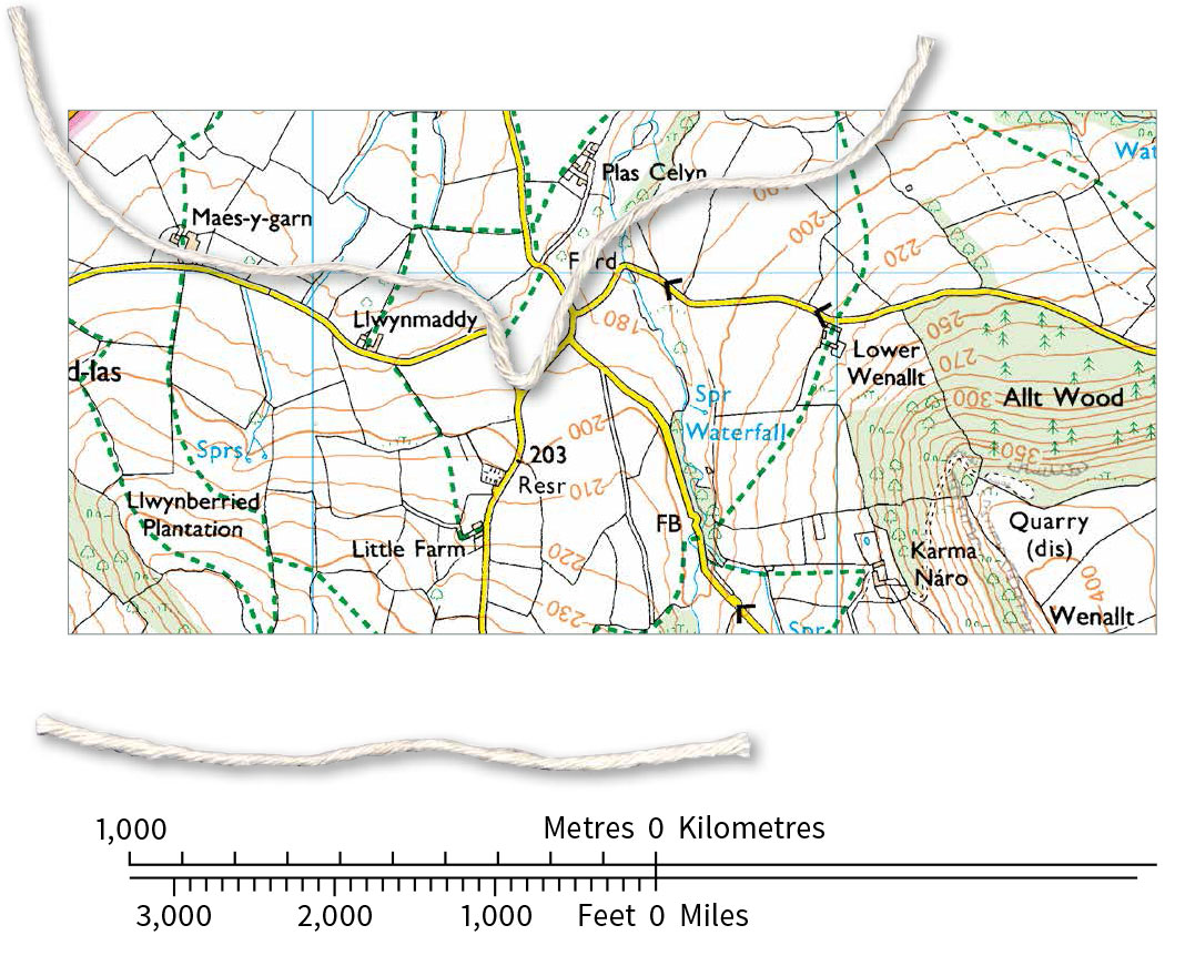A Beginners Guide To Measuring Distance On A Map