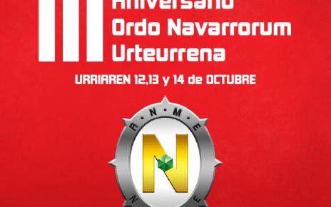 3 Aniversario Ordo Navarrorum