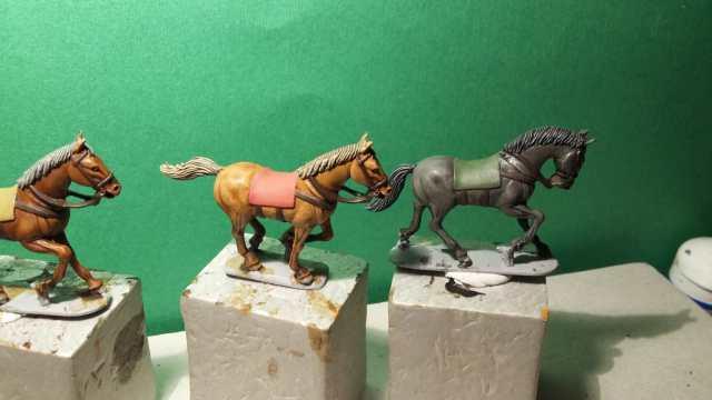 Paso 7: Pintado de los arneses y mantas C