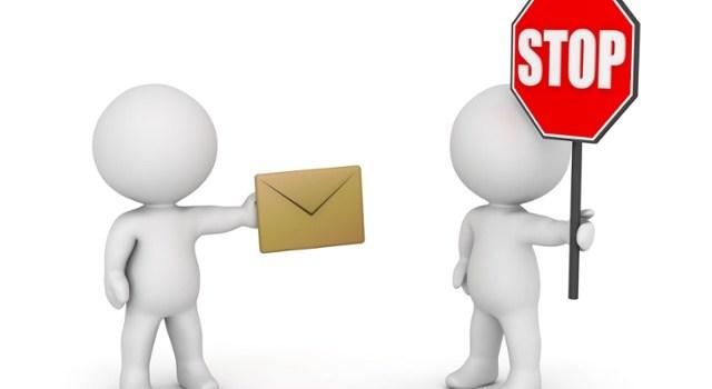 publicités et emails indésirables