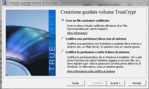 TrueCrypt: Creiamo un file Container