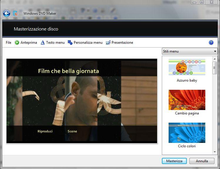 Come creare menu DVD - Giuseppe Fava