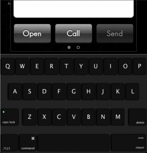 Dark Black MacBook CK Screenshoot