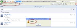 Google Buzz XSS