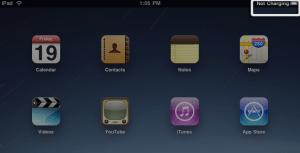 iPad non si carica via USB