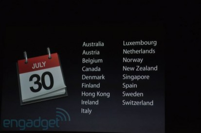 IPhone 4 in Italia dal 30 Luglio