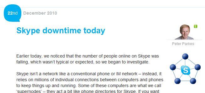 BlackOut Skype