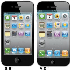 iPhone 5 Display maggiore Mockup