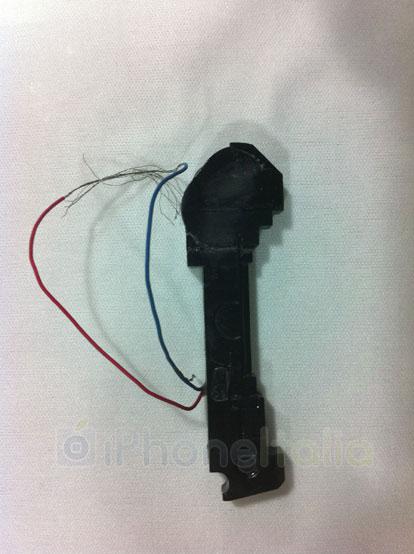 iPhone 5: speaker