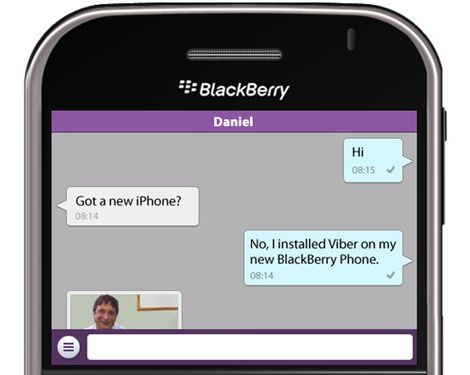 Viber su BlackBerry