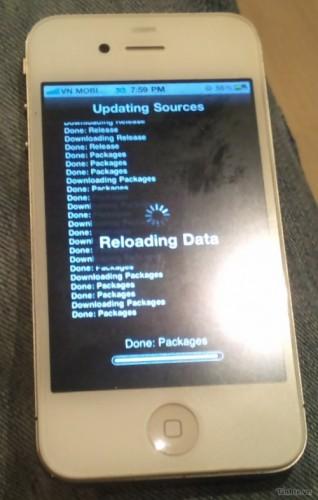 Fronte presunto prototipo iPhone 4S