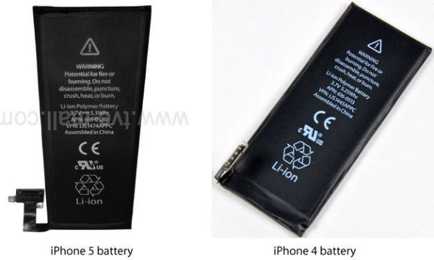 iPhone 5: ecco le foto della presunta batteria