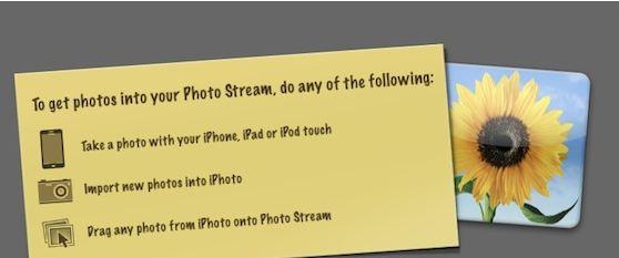 Photostream iphone 5 icon di nuovo?