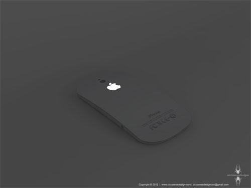Concept iPhone 5: il logo della mela che si illumina