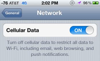 iPhone 4S iOS51 con 4G