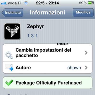 Zephyr si aggiorna, versione 1.3