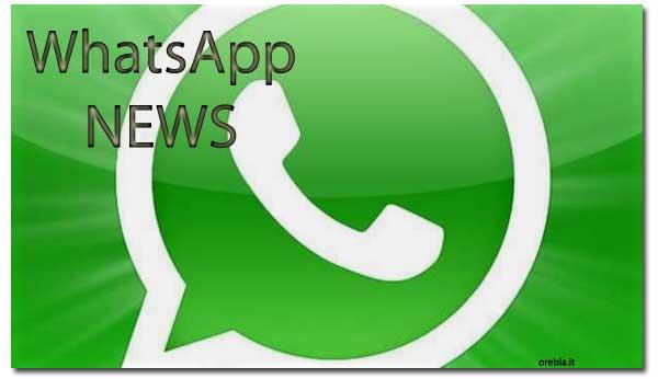 Whatsapp logo notizie aggiornamenti