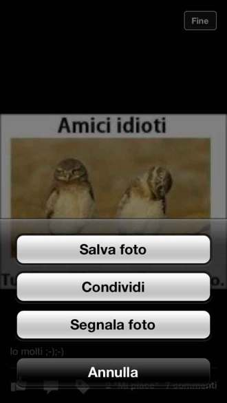 Come condividere foto su Facebook con iPhone
