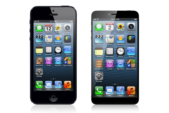 iphone 6 concept versus iphone 5