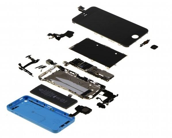 iphone 5c teardown